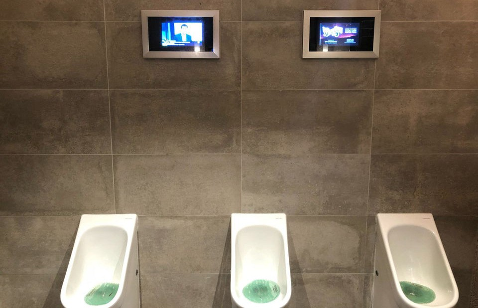 toilet met tv